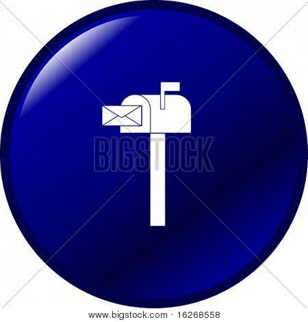 botão de caixa de correio