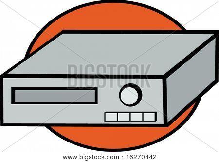 video cassette recorder