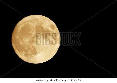 Luna naranja