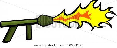 flamethrower weapon