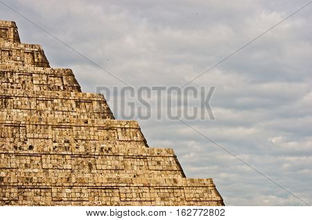 Pyramid In Chichen Itza, Yucatan, Mexico
