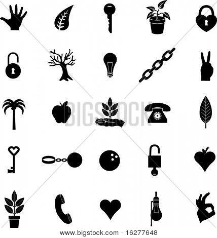 diverse symbols set 10