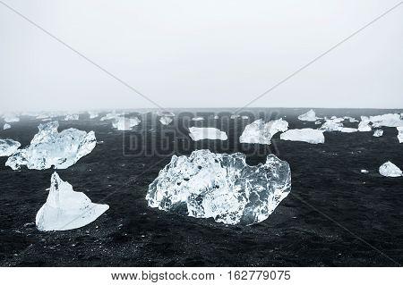 Ice On The Coast Of The Atlantic Ocean