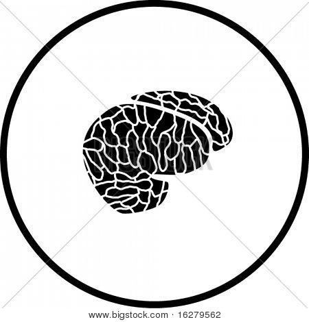 símbolo do cérebro