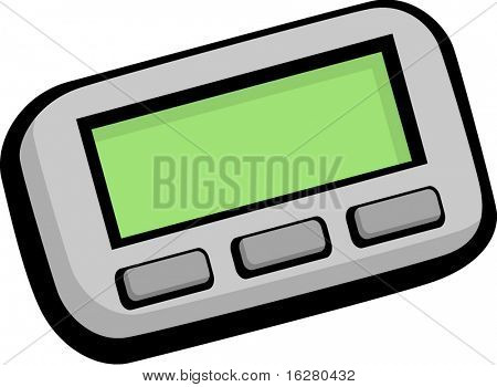 pager communications device