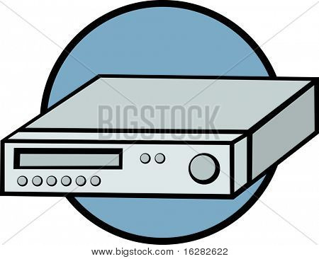 vcr or dvd player