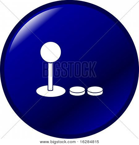 joystick and pushbuttons button