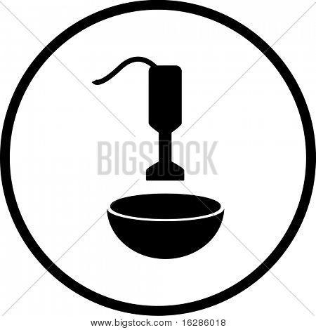 mixer and bowl symbol