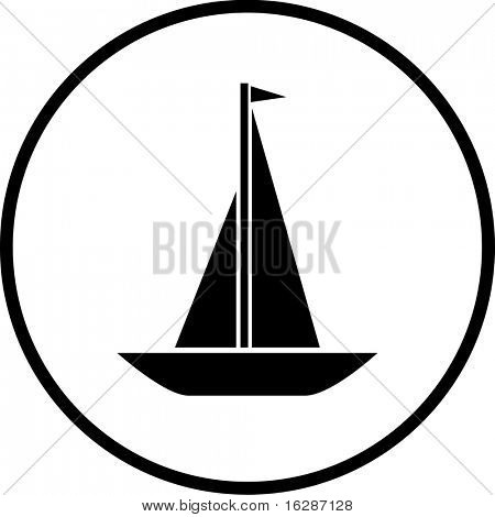 sailing ship symbol