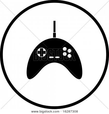 video game controller symbol