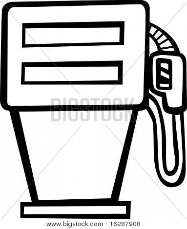 gas combustible pump