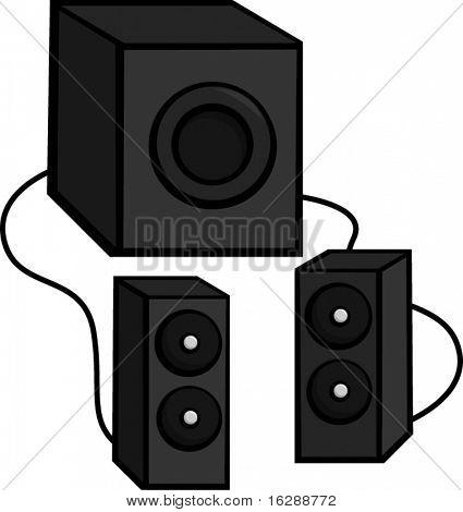 speaker set with subwoofer