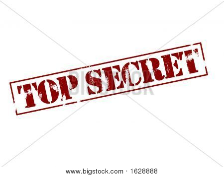 Sello de goma - Top Secret