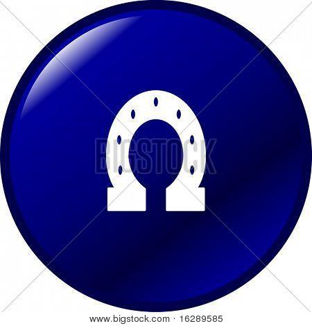 horseshoe button