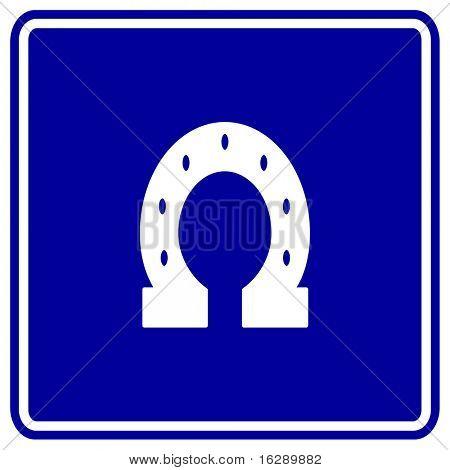 horseshoe sign