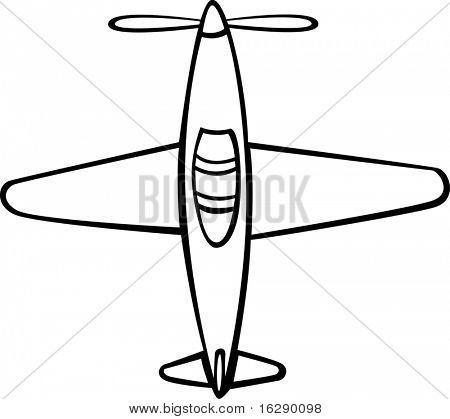 antique fighter combat airplane