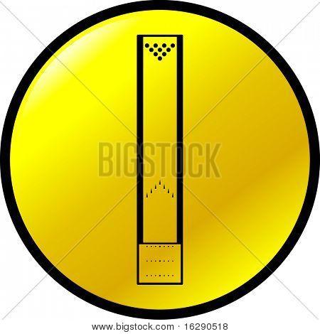 bowling lane button