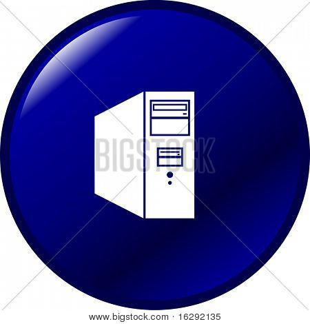computer tower button