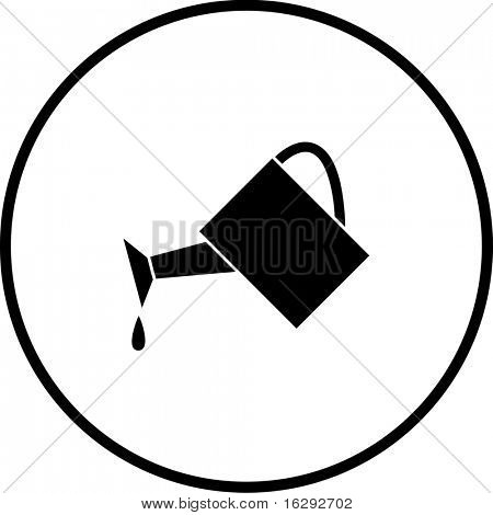 watering can symbol