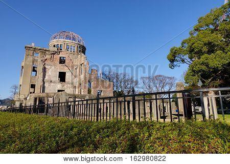 Atomic Bomb Dome In Hiroshima, Japan