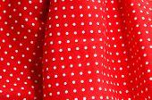 Постер, плакат: заделывают платье красного фламенко типичный Испании