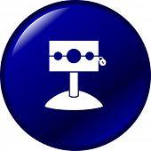 pic of stockade  - medieval stockade button - JPG