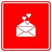 image of long distance relationship  - love mail sign - JPG