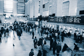 foto of amtrak  - Grand Central Station - JPG