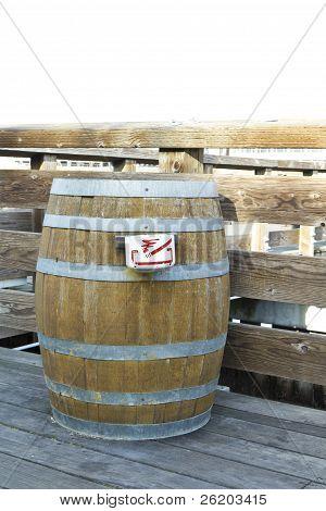 Waste Barrel