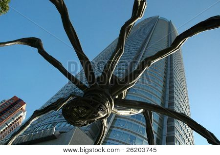 Giant Spider In Roppongi Tokyo