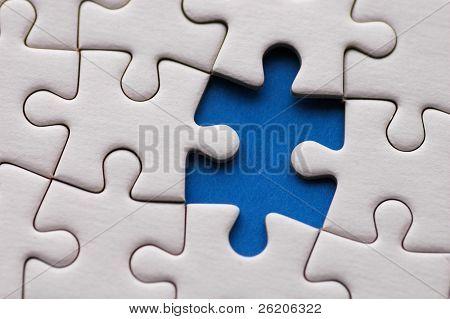 Puzzle hautnah