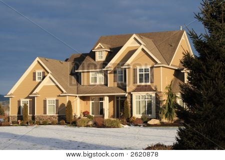 Beautiful Home In Winter