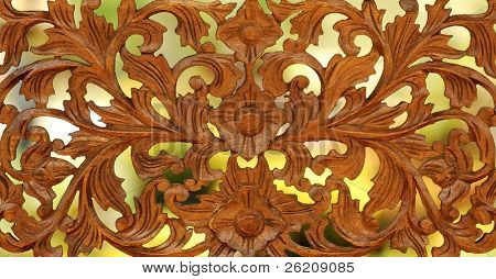 Traditional woodcraft