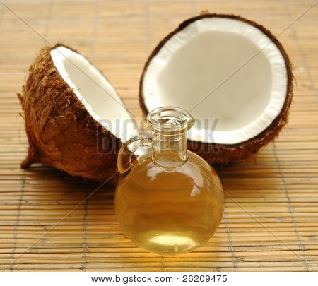 Coconut oil for alternative therapy