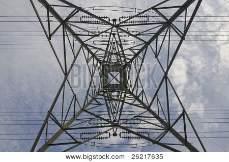 electric tower transmission