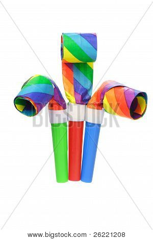 Multicolor Party Blowers