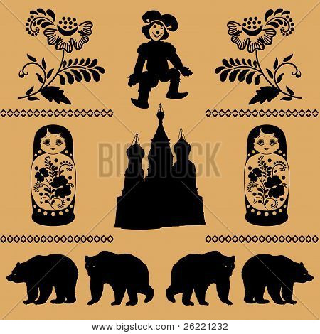 Russian Decorative Pattern