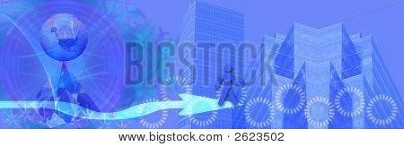 Header / Banner Business And Worldwide Success