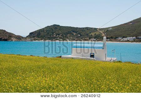chapel in Paros, Cyclades (Greece)