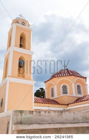 Church in Ano Syros, Greece