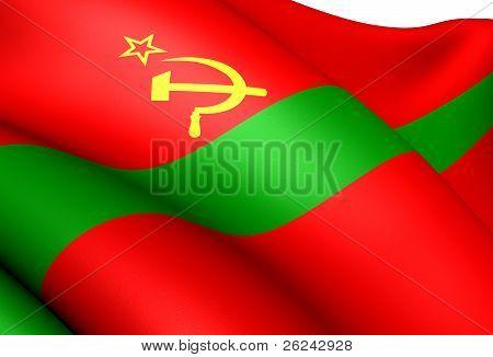 Flag Of Pridnestrovian Moldavian Republic