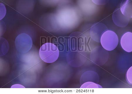 purple light blur
