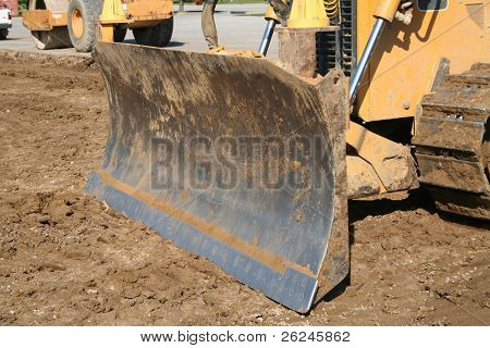 Bulldozer shovel