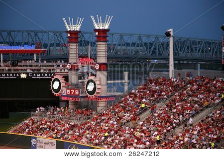 Great American Ballpark in cincinnati, home of the Reds
