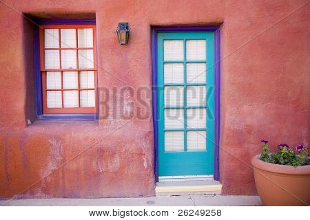 colorful entrance in Tucson Arizona