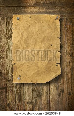 Wood Background Wild West Style