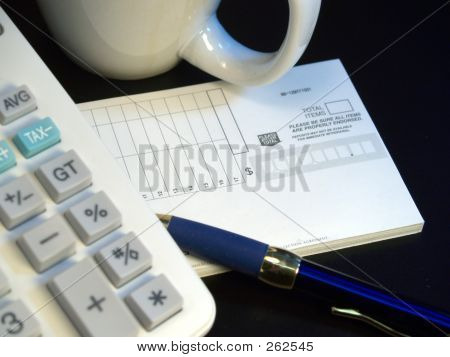 Calculator And Coffee Cup 3