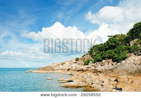 Beach At Seychelles - Vacation Background