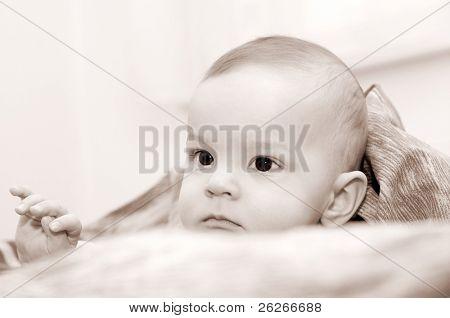 Somnolent baby