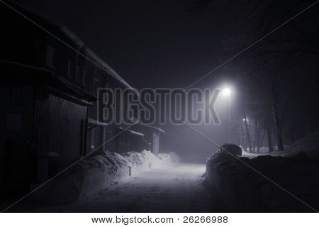 Misterious night